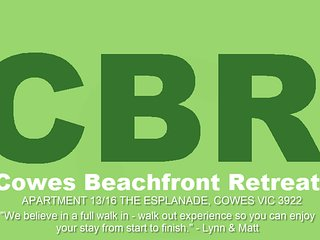 Cowes Beachfront Retreat - ABSOLUTE BEACHFRONT + 'WiFi + Netflix'