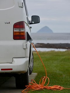 Electrical Hook Up on Arran