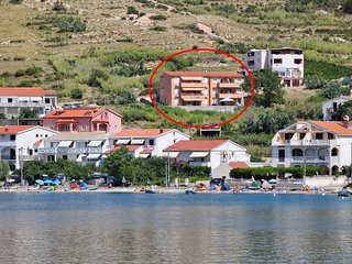 One bedroom apartment Metajna, Pag (A-4115-a)
