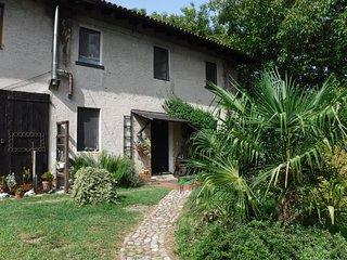 un angolo verde in fondo al Borgo di Nogaredo (UD)