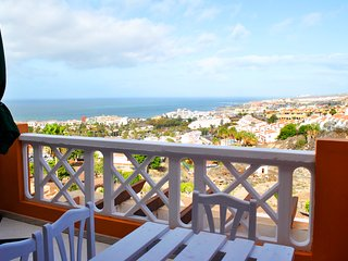 Studio apartment with breathtaking views of Costa Adeje