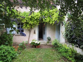 Escape! 200 yr old charming stone cottage, Loire Valley, nr Le Mans, Tours FUN!