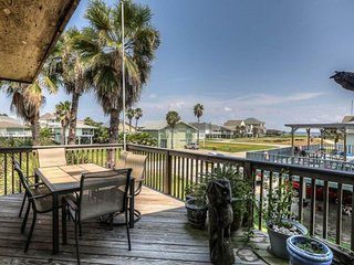 Dog-friendly beach bungalow with decks, ocean view, patio, and more!