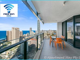CIRCLE-Apt Stay PRIVATE 2BED-2BTH+SDY-LVL30-OCEANV