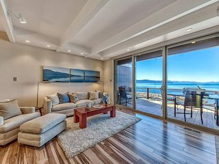 A modern two-bedroom condo steps from the shores of Crystal Bay - Crystal Cove