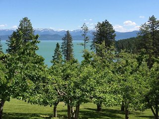 Spacious yet cozy home w/mtn & lake views - year-round outdoor adventures!