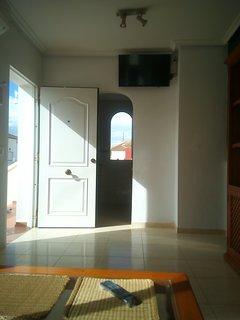 Vista parziale soggiorno