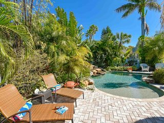 Oceanfront dog-friendly home w/private pool & ocean view - right on the beach!