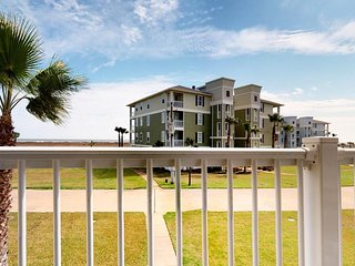 Nautical condo with ocean views, pools, hot tub, and private balcony
