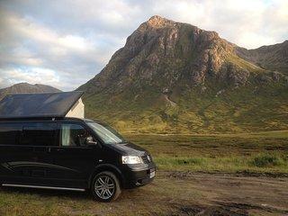 VW Campervan Hire Scotland - Classic Camper Holidays - Oscar