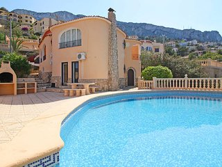 4 bedroom Villa in Calpe, Valencia, Spain : ref 5435355