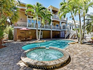 Luxurious canal-front home with private pool & plenty of space!