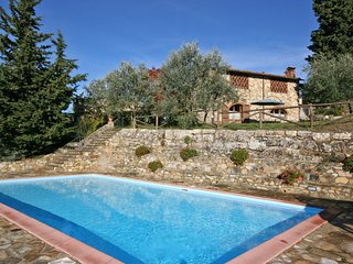 3 bedroom Apartment in Badia a Passignano, Tuscany, Italy : ref 5241544