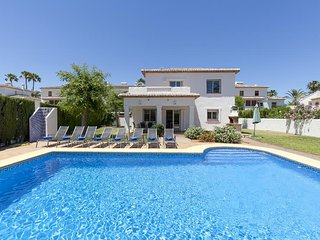 4 bedroom Villa in Denia, Valencia, Spain : ref 5047573