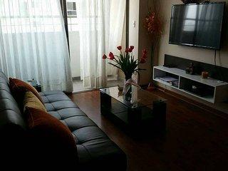 Confortable departamento de 3 dormitorios con linda vista