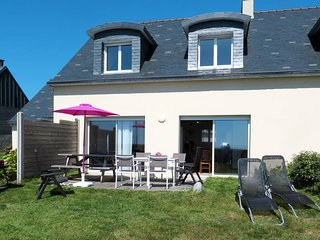 4 bedroom Villa in Plounévez-Lochrist, Brittany, France : ref 5438187