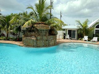 Beachside dog-friendly home with shared pool - close to local attractions