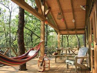 Cabanes confortables et au calme, vallée de la Dordogne