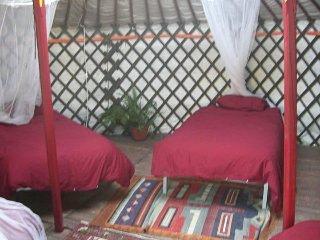 Yurt at The Source Cortijo Vadillo