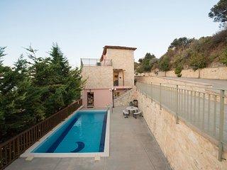 4 bedroom Villa in Maroulas, Crete, Greece : ref 5546665