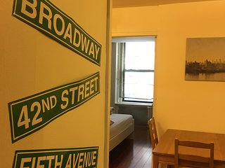 1 Exclusive 2BDR  at center of  midtown