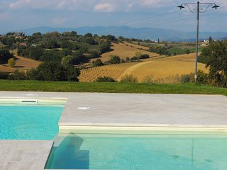 Borgo Delle Spighe: farmhouse with large pool in wonderful panoramic location
