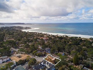 3761 Heart of Carmel - Book Now for US Open! Ocean View, 3 Blocks to Beach