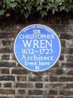 Home of Sir Christopher Wren - approx 0.1 mile