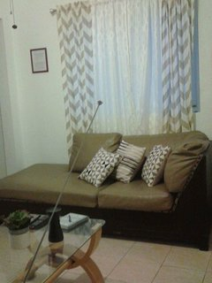 The second living room, it has air conditioner, ceiling fan, 40' TV, Netflix.