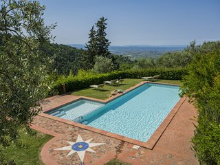 3 bedroom Apartment in Poggio alla Baghera, Tuscany, Italy : ref 5518860