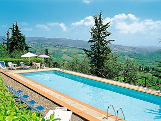 4 bedroom Apartment in Castellina in Chianti, Tuscany, Italy : ref 5447421