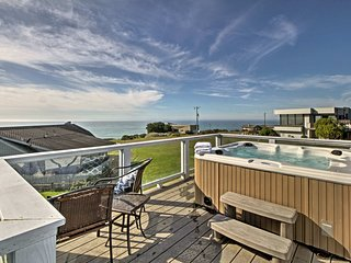 NEW! 3BR Irish Beach Home w/Hot Tub & Ocean Views!