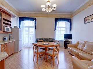 Modern, well equipped apartment in the heart of St. Petersburg