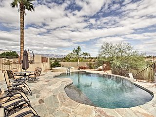 NEW! 3BR Tucson House w/ Pool, Hot Tub & Views!