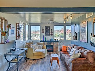 NEW! Stunning Views - 2BR Sedona Home w/ Hot Tub!