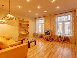 Modern two-room apartments nearby the Nevsky Avenue
