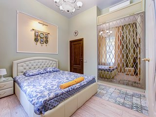 Modern studio apartment in a 3-minute walk from the Hermitage