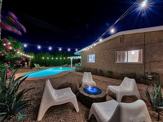 Hip Indio 3BR w/ Private Pool & Fire Pit – Great Central Location