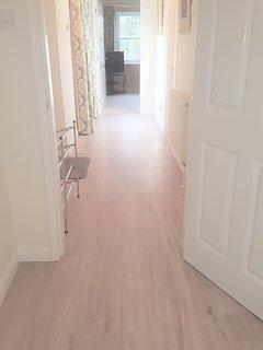 Hall way with Karndean flooring