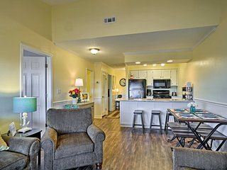 The condo features 2 bedrooms, 2 bathrooms and accommodations for 6.