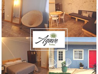 Agave Suites - Henequen 1BR/Ba one block from the beach (sleeps 2-4)