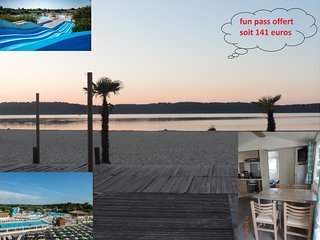 Location Mobil home 'NEWS SAISON 2018' en VIP  VILLAGE VACANCES 4**** LA RESERVE