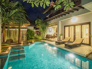 ULA VILLAS BALI -AMAZING 3 BEDROOM PRIVATE POOL VILLAS WITH JACUZZI & WHIRLPOOL
