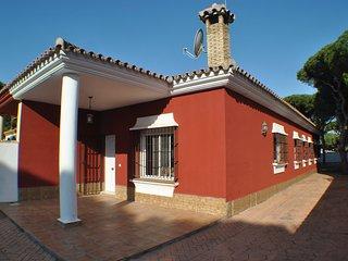 Chalet pareado en La Barrosa a 300 metros de la playa.