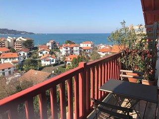 Residence Bilkua - vue mer avec parking privatif
