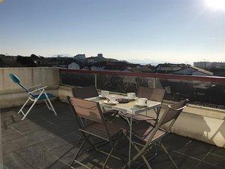 Les terrasses de Marbella : vacances avec terrasse apercu mer a 300m des plages