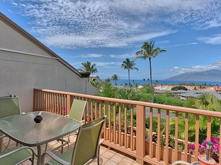 Maui Kamaole #L-205 2Bd/2Ba Spacious Ocean View, Largest Floor Plan, Sleeps 6