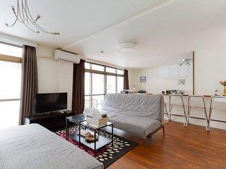 Lively Area Penthouse in Dotonbori Street NambaNSI36