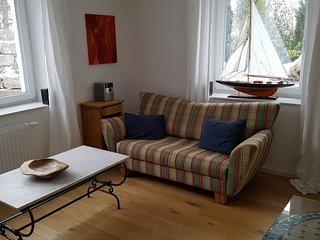 Sonnige Parterre-Ferienwohnung in zentraler aber ruhiger Lage