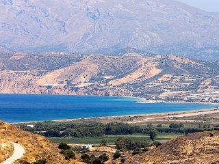 Crete du Sud sur la Mer de Lybie